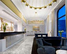 Lobby Hotelu Bristol w Warszawie - renovation by Anita Rosato - 2013
