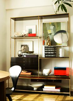 Paul McCobb shelving