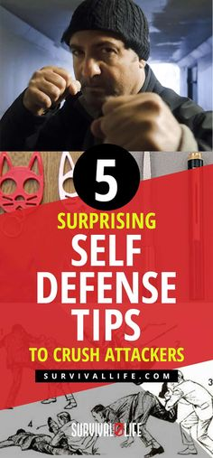 Check out these unconventional self-defense tips that you may not have considered. Survival Life is the best source for prepper survival tips and skills. Self Defense Classes, Self Defense Moves, Self Defense Weapons, Self Defense Techniques, Survival Life, Survival Prepping, Survival Skills, Disaster Preparedness, Wilderness Survival