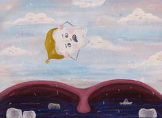 Digital illustration - A falling out dream Digital Illustration, Illustrations, Painting, Art, Craft Art, Illustration, Painting Art, Kunst, Paint