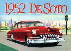 Plan59 :: Classic Car Art :: Vintage Ads :: 1952 DeSoto Custom