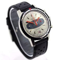 Breitling Datora 2031 Valjoux 7734 Mechanical Chronograph Racing Timer