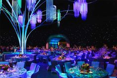 Emmy Awards Governors Ball. This year the academy's Governors Ball got an imaginative enchanted forest theme, produced and designed by Sequoia Productions, led by Chery... Photo: Nadine Froger Photography