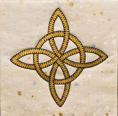 Celtic knot PDF applique quilt block pattern This traditional Celtic knot applique pattern, which means eternal friendship, is easy to create and would look wonderful as part of your next project. You could use this 7 by 7 square block to make a special gift for your friend. Maybe a