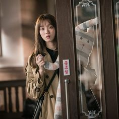 "Sandy on Twitter: ""#LeeSungKyung… "" Romantic Doctor, Lee Sung Kyung, Weightlifting Fairy Kim Bok Joo, Military Jacket, Shit Happens, Twitter, Military Vest"