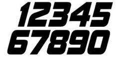 number font - Moto-Related - Motocross Forums / Message Boards ...