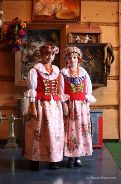 Temat: Strój rozbarski (1/1) Poland Costume, Folk Costume, Costumes, Folk Clothing, Folk Fashion, Harajuku, Culture, Traditional, Clothes