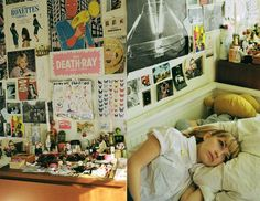 Tavi in her bedroom by Petra Collins for The Ardorous