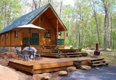 Tour the Vacationer – a brilliant cabin with two bedrooms over 727 square feet