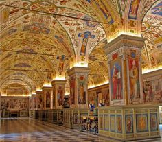 The Vatican Library (the library of the Holy See) is one of the oldest libraries in the world and houses many of the world's oldest and most precious works including priceless treasures such as the oldest known complete Bible, believed to be made in the year 325.