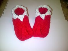 Beginners Crochet - How to crochet elf slippers