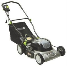 "Steel Corded Electric 20"" with 12"" Motor Mulch and Bagging Lawn Mower  #Lawnmower"