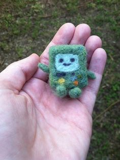 BMO Adventure Time  Needle Felted by LittleSugarPuffs on Etsy, $8.50