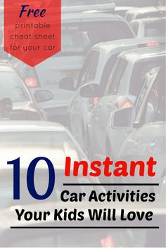 10 no-preparation games & activities to play with kids on road trips or just driving around town