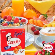 Con las #Panelitas de #Arequipe y #Coco Ligth de #Copelia endulza tu dieta con ¡menos calorías!