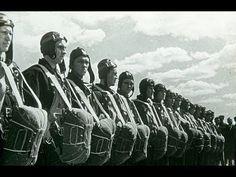 День авиации. Воздушный парад в Тушино под Москвой. 18 августа  1939 год