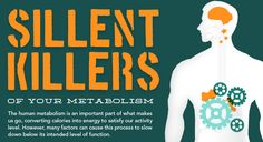 Silent Killers of Your Metabolism Things to think about...