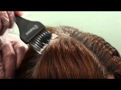 FRAMCOLOR 2001 - VIDEO TUTORIAL - Copertura dei capelli bianchi
