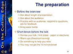 50 Best Example Interview Presentations images in 2015   Interview