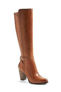 35 Brown Boots That Are Anything But Boring #refinery29  http://www.refinery29.com/brown-boots#slide29  Knee-High Heeled Boot Ugg comfort, in stunner form.