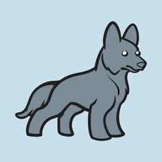 Check out this awesome 'German+shepherd+blue' design on @TeePublic!