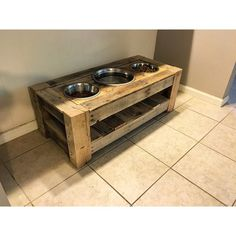 the 3 hole dog bowl stand one of my favorite piecessimple functional design but…