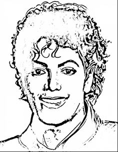 Michael Jackson Coloring Pages   Draw Coloring Pages ...