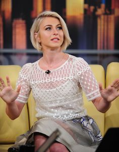 Hair Cut: Julianne Hough short bob