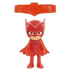 PJ Masks - Figura con luz Buhíta Figura con luz de Buhíta, el Héroe rojo de los PJ Mask: Héroes en Pijama, de 7,5 centímetros de altura.