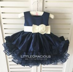 Comfy and Cute Thanksgiving Outfit Ideas Frocks For Babies, Baby Girl Frocks, Frocks For Girls, Baby Girl Dresses, Baby Dress, Flower Girl Dresses, Thanksgiving Dress Toddler, Cute Thanksgiving Outfits, Kids Dress Wear
