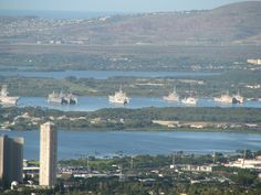 Pearl Harbor from Aiea Loop Trail