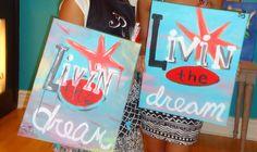 Painting Bachelorette Party at Bottle & Bottega...Livin the dream!