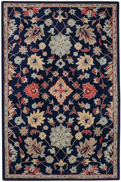 The Charisma collection is a new wool transitional rug design from Capel Rugs. Charisma rugs have a hand tufted construction.