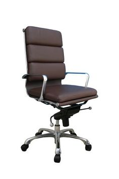 Swivel seat with pneumatic height adjustment is easy to change from a seated position. Adjustable tilt angle, tilt tension and tilt lock let you control the cha