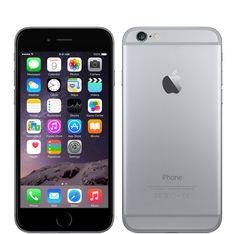 Apple iPhone 6 Space Gray iOS Smartphone Factory Unlocked Great Buy B Iphone 2g, Iphone 6 Plus 64gb, Iphone 6 Plus Gold, Iphone 6 16gb, Apple Iphone 6s Plus, Iphone Phone, Iphone Cases, Apple Tv, Buy Apple