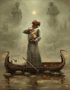 Andrew Ferez. Russian fantasy and surrealist artist.
