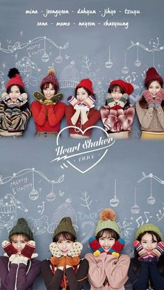 Twice Heart Shaker Nayeon, Kpop Girl Groups, Korean Girl Groups, Kpop Girls, K Pop, Twice Dahyun, Tzuyu Twice, Sana Cute, Chibi