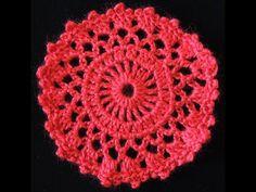 Crochet : Motivo Circulo # 2