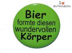Bier-Ansteckbutton-5cm-Button+von+Buttons&Books+auf+DaWanda.com