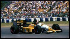 13 de Noviembre de 1988 Oscar Larrauri  Eurobrun ER188 Cosworth Gran Premio de Australia Adelaida Image by © Sutton Images/Corbis