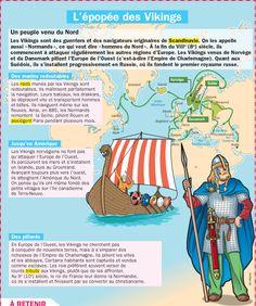 Fiche exposés : L'épopée des Vikings