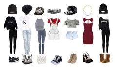 """""""~Monday to Sunday~"""" by crazytaylah-22 on Polyvore featuring Max Studio, Ally Fashion, NIKE, Kill Brand, Topshop, Dr. Martens, Calvin Klein, Coal, Quiz and Giuseppe Zanotti"""