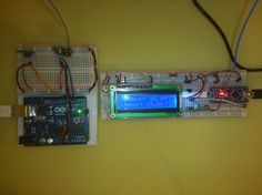 Build a wireless indoor and outdoor thermometer using Arduino #Arduino