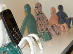 Image result for ceramic handmade Cell Phone Holder