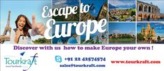 Tourkraft is a renowned Destination Management Company operating out of India and in Middle East & UK through its associates providing ground arrangement services to most of the destinations across the globe. The team is backed with rich experience of decades and some of the biggest and best names in travel industry trust us to serve them.