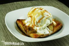 Caramel Apple Tart - My Chicken Fried Life