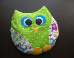 Owl Heating Pad, Rice Pad, Rice Pillow, Rice Bag, Heating Bag