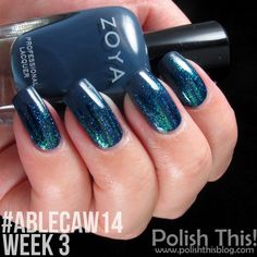Polish This!: #ablecaw14 Week 3: Something Blue