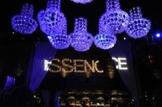 """Essence magazine hosted its fourth annual """"Black Women in Music"""" event at Greystone Manor on February 6 with performances by Lianne La Havas and Solange Knowles. Illuminated crystalline chandeliers hung overhead, and a bold logo gobo announced the host."""