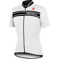 Castelli Prologo 3 Mens Jersey WhiteBlack XL ** You can find more details by visiting the image link. #mensoutdoorclothing Cycling Gear, Cycling Jerseys, Cycling Outfit, Cycling Clothing, Mens Outdoor Clothing, Bike Wear, Sleek Look, Outdoor Outfit, Jersey Shorts